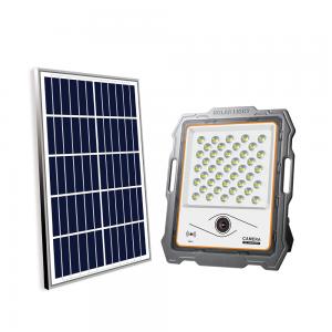 Foco solar LED 100W + cámara WIFI
