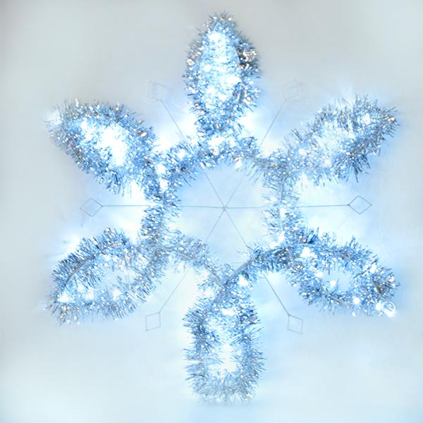 copo de nieve luminoso