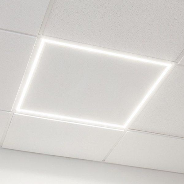 panel led con marco luminoso