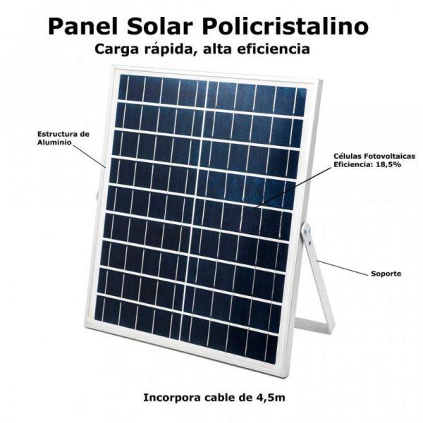 Foco solar proyector 100w
